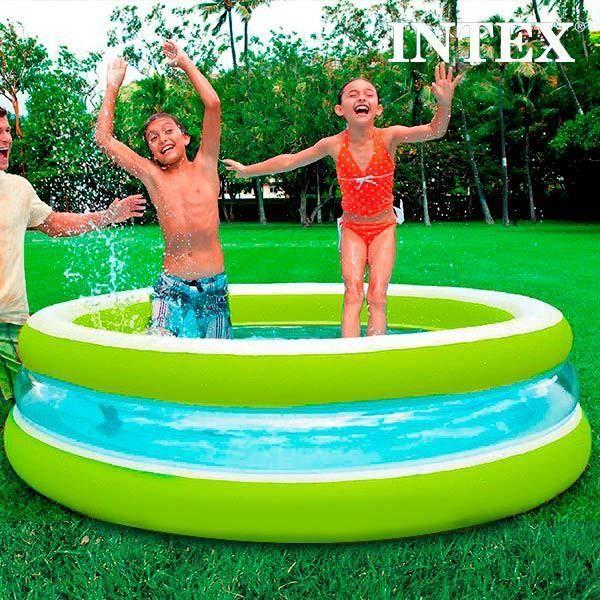 Piscine gonflable pour enfants intex 203 cm achat vente pataugeoire - Piscine gonflable cdiscount ...