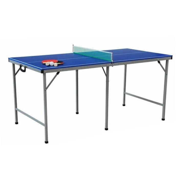 Table de ping pong 153x76cm avec accessoires achat vente table tennis de - Achat table ping pong ...