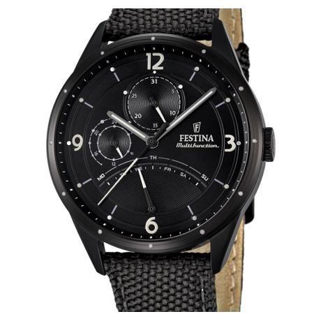 montre homme festina bracelet cuir f16849 3 achat vente montre cdiscount. Black Bedroom Furniture Sets. Home Design Ideas