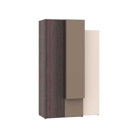 armoire dressing 3 portes hifi avec module double tiroirs achat vente armoire de chambre. Black Bedroom Furniture Sets. Home Design Ideas