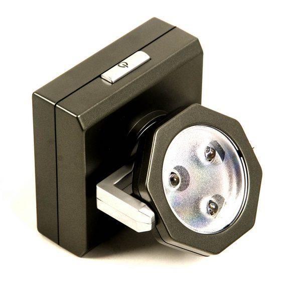 lampe orientable led pour placard achat vente lampe orientable led pour cdiscount. Black Bedroom Furniture Sets. Home Design Ideas