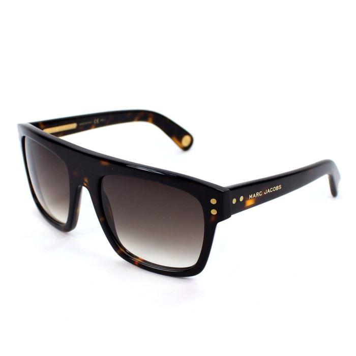 lunettes de soleil marc jacobs mj406 s havane f marron achat vente lunettes de soleil. Black Bedroom Furniture Sets. Home Design Ideas