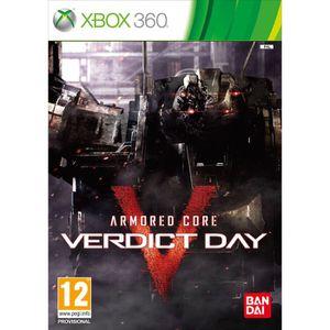 JEUX XBOX 360 ARMORED CORE VERDICT DAY / jeu console X360