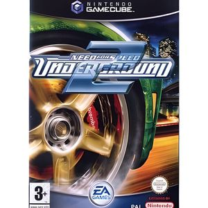 JEU GAME CUBE NEED FOR SPEED UNDERGROUND 2