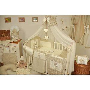 ensemble tour de lit bebe achat vente ensemble tour de lit bebe pas cher cdiscount. Black Bedroom Furniture Sets. Home Design Ideas