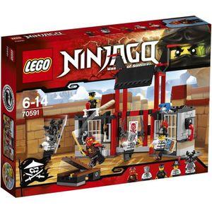 ASSEMBLAGE CONSTRUCTION LEGO® Ninjago 70591 L'Évasion de la Prison de Kryp
