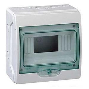 coffret electrique 8 modules achat vente coffret. Black Bedroom Furniture Sets. Home Design Ideas