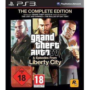 JEU PS3 GRAND THEFT AUTO IV - COMPLETE EDITION [IMPORT …