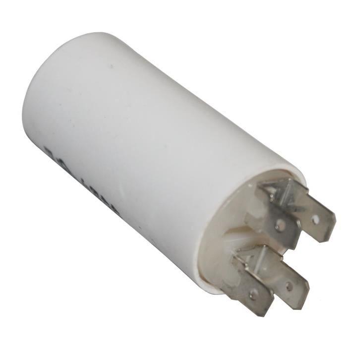 condensateur de d marrage pour moteur 4 f 475v avec cosses achat vente condensateur. Black Bedroom Furniture Sets. Home Design Ideas