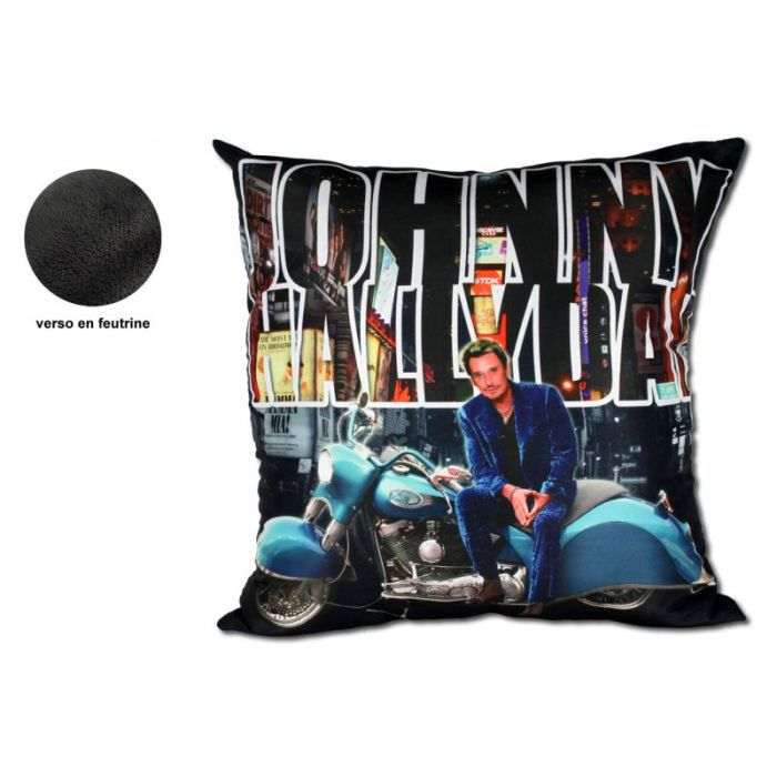 Coussin johnny hallyday achat vente coussin cdiscount for Miroir johnny hallyday
