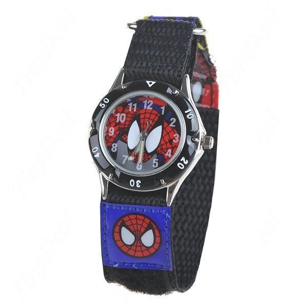 montre spiderman pour enfants achat vente montre. Black Bedroom Furniture Sets. Home Design Ideas