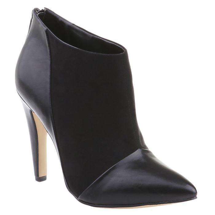 liste de cadeaux de henri f noir boots talon top. Black Bedroom Furniture Sets. Home Design Ideas