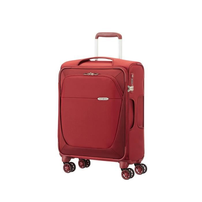 valise toile samsonite 4 roues rouge taille cabine 55cm. Black Bedroom Furniture Sets. Home Design Ideas
