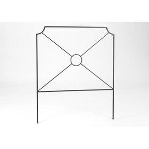 tete de lit hauteur 100 achat vente tete de lit hauteur 100 pas cher soldes cdiscount. Black Bedroom Furniture Sets. Home Design Ideas