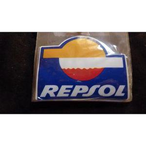 STICKERS autocollants, stickers, repsol, 9 cm x 7 cm grand