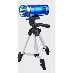 LAMPE DE PÊCHE Bleu blanc lumière double pêche de nuit lampe 10W
