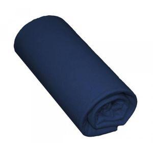 TAIE DE TRAVERSIN Taie de Traversin Bleu Marine 100% Coton - pour li
