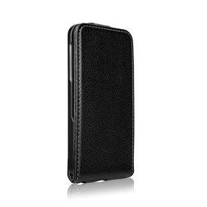 COQUE - BUMPER Etui FlipCover XQISIT iPhone 5/5S noir