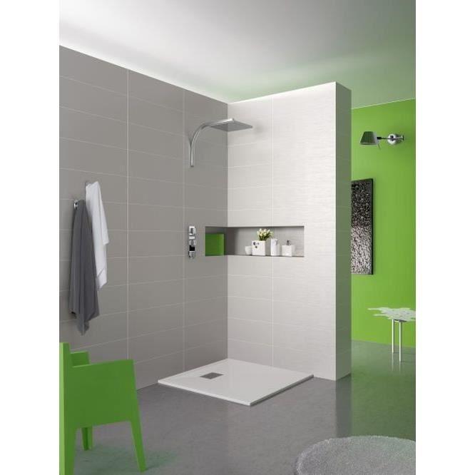 receveur de douche 80x80 achat vente receveur de douche 80x80 pas cher cdiscount. Black Bedroom Furniture Sets. Home Design Ideas