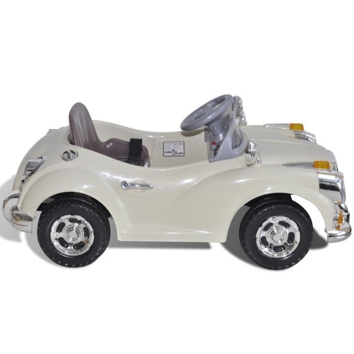 vehicules electriques voiture enfant a batterie beige achat vente voiture enfant cdiscount. Black Bedroom Furniture Sets. Home Design Ideas