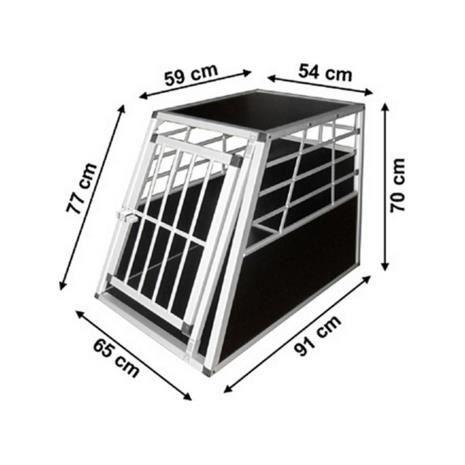 cage de transport voiture pour chien taille l auto achat. Black Bedroom Furniture Sets. Home Design Ideas