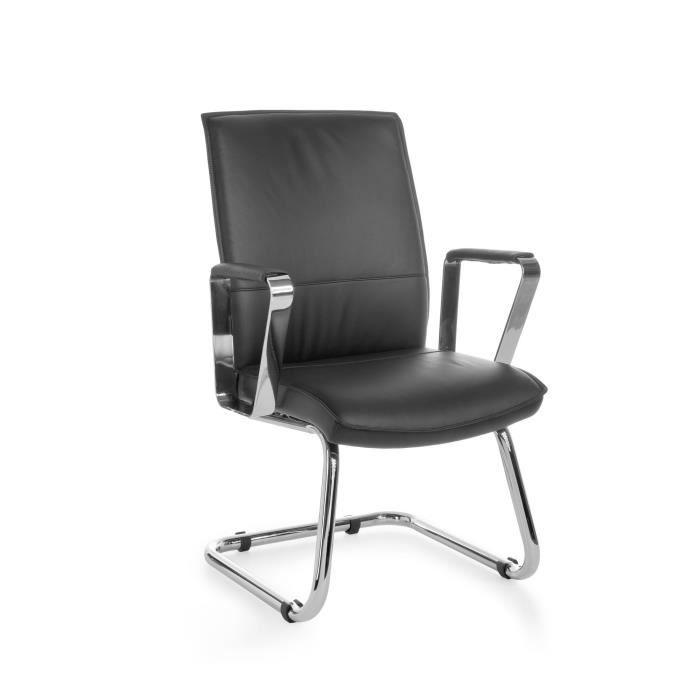 chaise visiteur design shirley achat vente chaise de. Black Bedroom Furniture Sets. Home Design Ideas