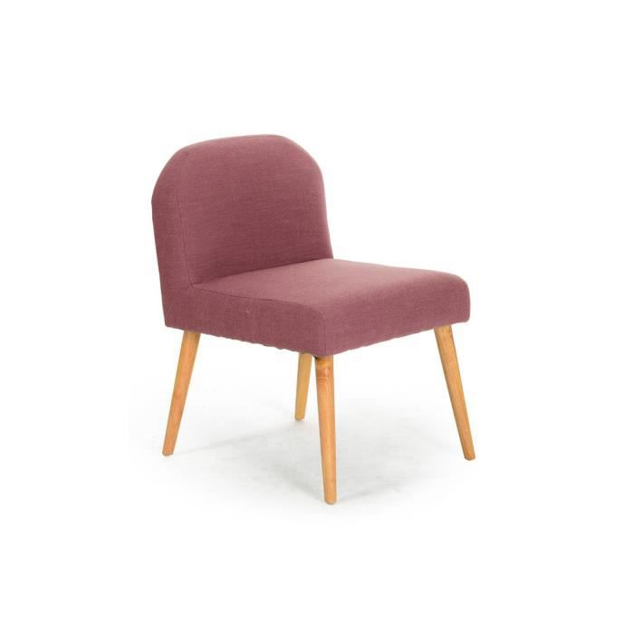 fauteuil bois violet tissu rhody achat vente. Black Bedroom Furniture Sets. Home Design Ideas
