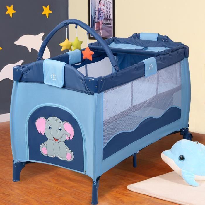 Lit b b pliant avec des accessoires lit de voyage 4 couleurs au choix neuf achat vente lit - Accessoire de lit pour bebe ...