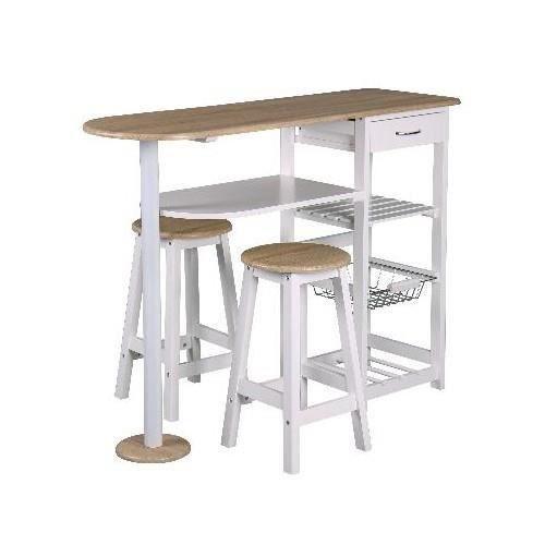 Ensemble table bar 2 tabourets bivoak achat vente table manger table - Ensemble table bar et tabouret ...