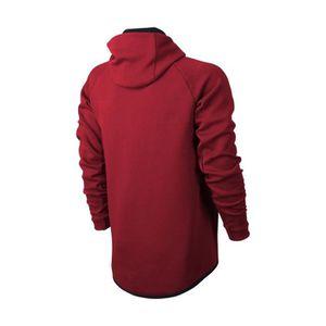 Fleece Rouge Enfant Nike Tech veste Noire mn0wvN8O