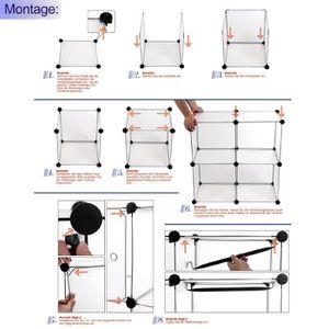 penderie m tal achat vente penderie m tal pas cher. Black Bedroom Furniture Sets. Home Design Ideas