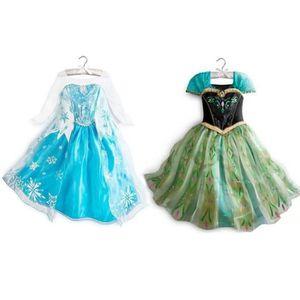dguisement panoplie lot 2 robe elsa robe anna pour amoureux de la