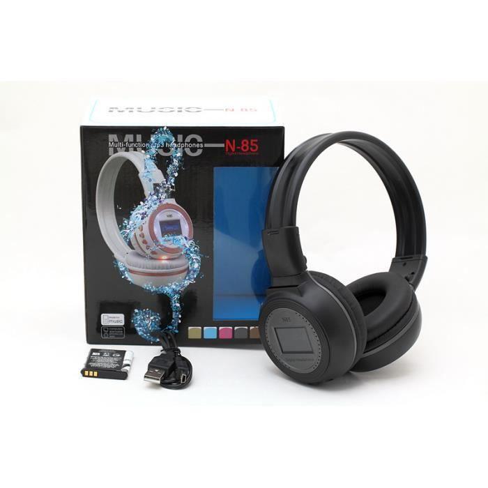casque audio sans fil bass system avec lecteur mp3 int gr jusqu 39 16go mod le. Black Bedroom Furniture Sets. Home Design Ideas