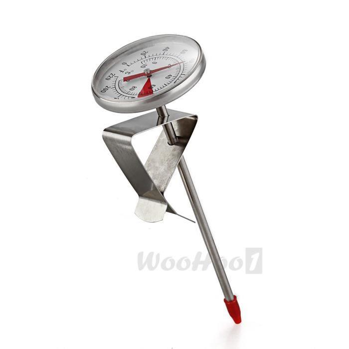 Thermom tre de cuisson cuisine lait liquide bbq viande for Thermometre de cuisine avec sonde