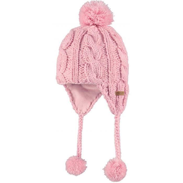 barts bonnet b b p ruvien rose poudre du 6 a rose achat vente bonnet cagoule. Black Bedroom Furniture Sets. Home Design Ideas