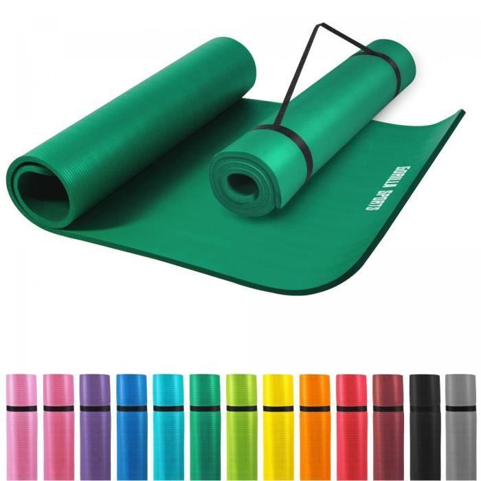 tapis en mousse pour le sport domicile vert prix pas cher cdiscount. Black Bedroom Furniture Sets. Home Design Ideas