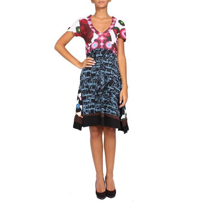Desigual robe pour femme multicolore achat vente - Vente a domicile pret a porter femme ...