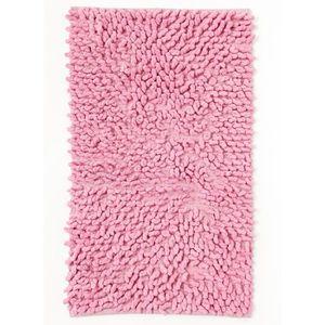 tapis de bain tapis de salle de bains bouclette rose 50x80 - Tapis Salle De Bain Pas Cher
