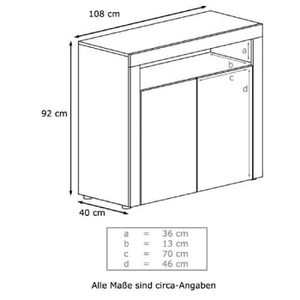 commode grise laque achat vente commode grise laque pas cher les soldes sur cdiscount. Black Bedroom Furniture Sets. Home Design Ideas