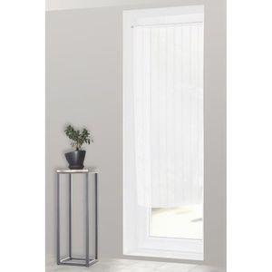 rideaux voilage porte fenetre achat vente rideaux voilage porte fenetre pas cher cdiscount. Black Bedroom Furniture Sets. Home Design Ideas