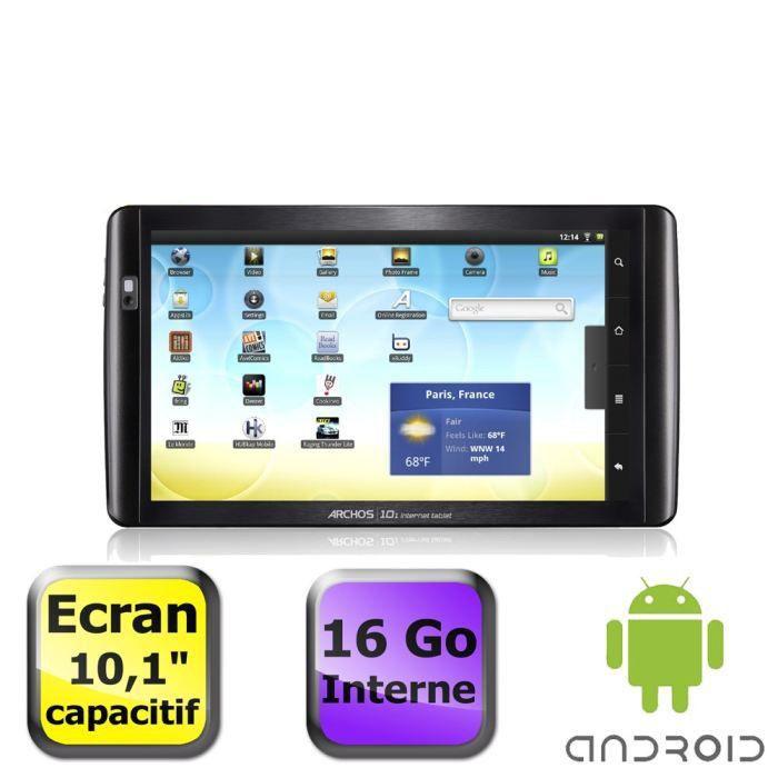 informatique tablettes tactiles ebooks archos  internet tablet pc go f