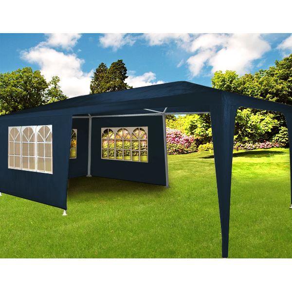 tonnelle tente barnum bleue 3x6m achat vente tonnelle barnum tonnelle tente barnum 3x6m. Black Bedroom Furniture Sets. Home Design Ideas