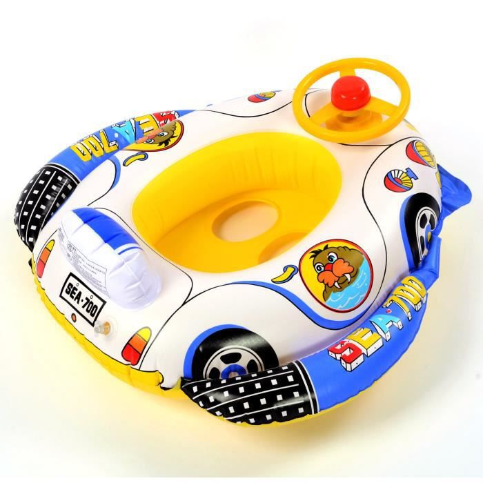 baignoire bouee enfant natation gonflable voiture piscine. Black Bedroom Furniture Sets. Home Design Ideas