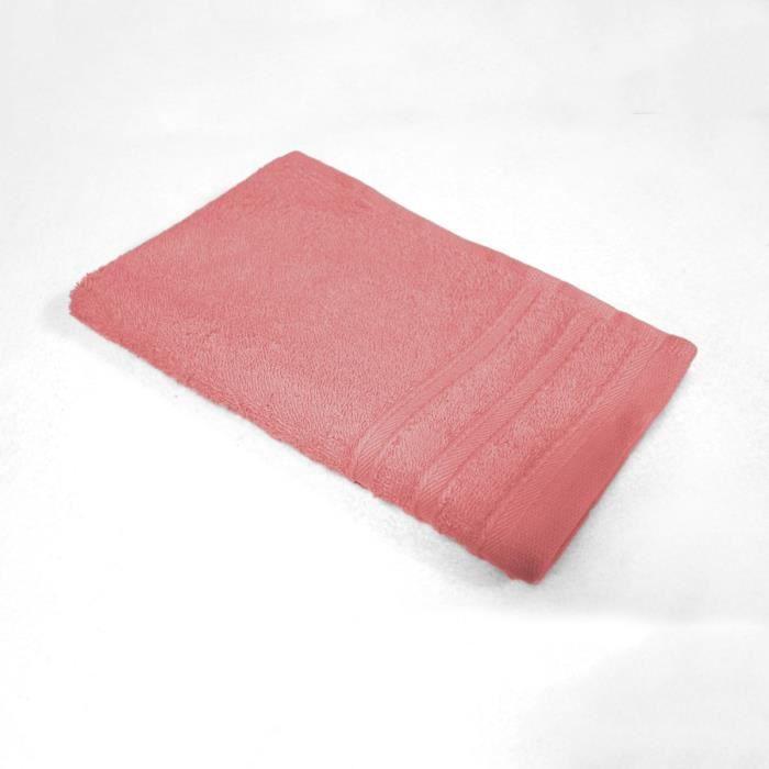 douceur d 39 interieur serviette pour invit 100 coton vitamine 30x50 cm drag e achat vente. Black Bedroom Furniture Sets. Home Design Ideas