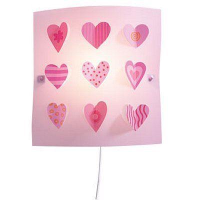 Applique murale coeurs achat vente applique murale coeurs plastique cdiscount for Applique chambre fille discount