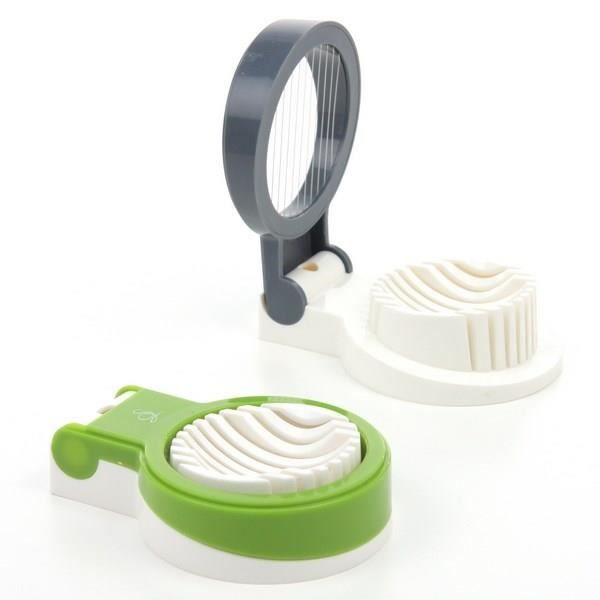 Coupe oeuf rondelles 9 tranches m tal bross mat achat for Cuisine metal brosse