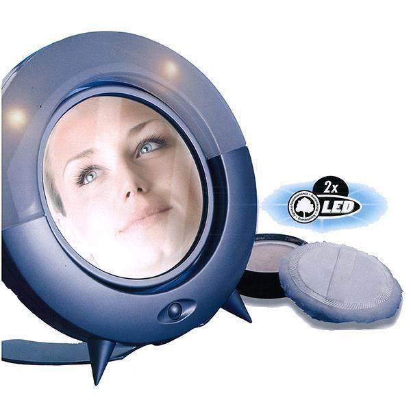Miroir sur pied double face led achat vente miroir - Miroir trois faces salle de bain ...