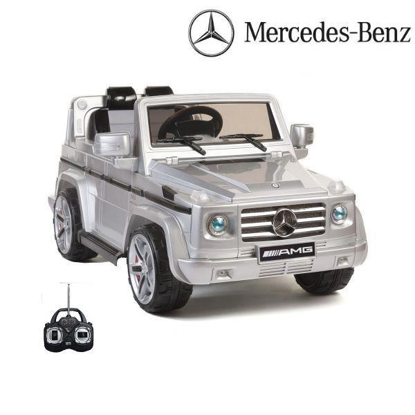 mercedes g55 amg argent voiture lectrique enfant achat vente voiture mercedes g55 amg. Black Bedroom Furniture Sets. Home Design Ideas