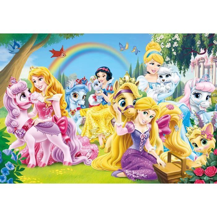 puzzle 35 pi ces palace pets princesses disney achat. Black Bedroom Furniture Sets. Home Design Ideas