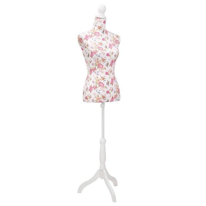 buste de couture de femme en coton blanc achat vente buste mannequin cdiscount